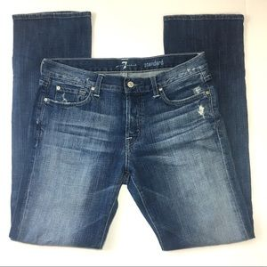 7 For All Mankind • Standard Button Fly • 34x34